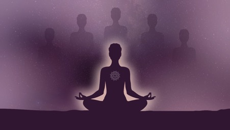 How to ease worry with the help of divine light.